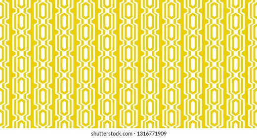 1960s Retro Wallpaper Pattern, Seamless Yellow Sixties Background, Chic Mod Repeating Wall Paper, Vintage Geometric Decor, Palm Springs Modernism, Bright Wall Graphic, Cool Design, Throwback Style