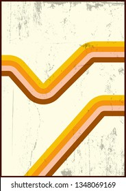 1970's Background, Cover, Wallpaper, Pattern, Dirty Texture and Vintage Colors