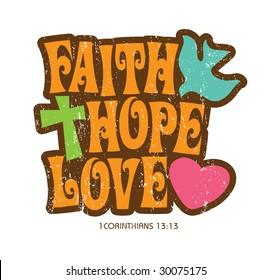 1970s Vintage Christian T-shirt design