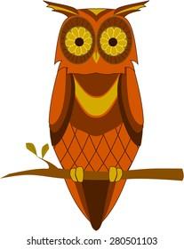 1970s Vintage Owl