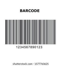 1-D One-Dimensional Barcode Types. Set, collection of barcodes isolated on white background.Marketing, the concept of the Internet. MSI PLESSEY