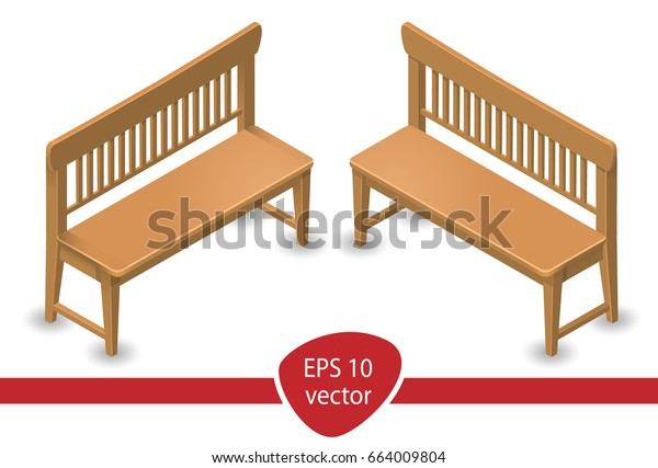Incredible 2 Angle Isometry Oak Neat Simple Stock Vector Royalty Free Gmtry Best Dining Table And Chair Ideas Images Gmtryco