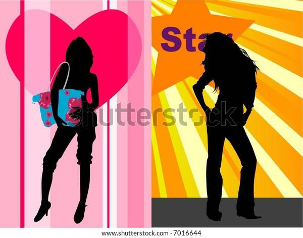 2 fashion girls