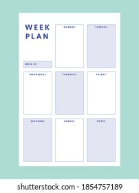 2 Set of minimalist planners. Smart Planner Business Planner. Daily and weekly planner template. Clear and simple printable to do list.