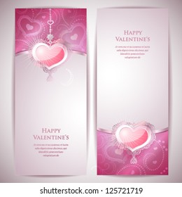 2 Valentine's Day Cards.