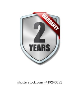 2 Years Warranty shield