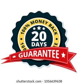 20 Days Money Back illustration