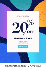 20% OFF Sale. Discount Special Offer Promo Ad. Discount Promotion. Sale Discount Offer.