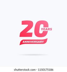 20 Years Anniversary Label