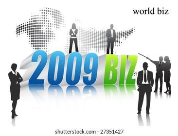 2009 biz concept