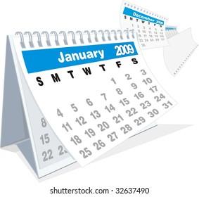 2009 calendar year fly by