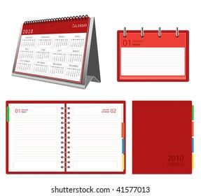 2010 calendar and organizer