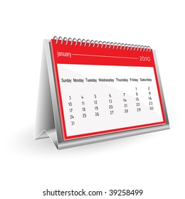 2010 calendar-january