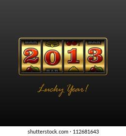 2013 - Lucky Year! Vector.