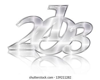 2013 silver emblem