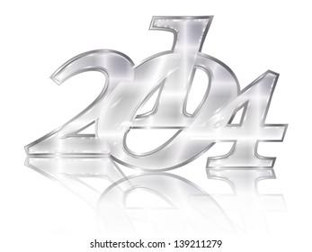 2014 silver emblem