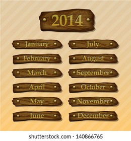 2014 wood month boards