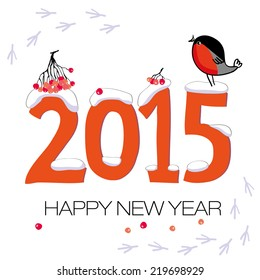 2015 New Year Vector card
