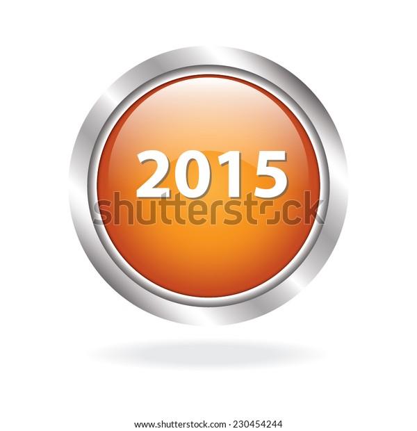 2015 yellow circle web icon