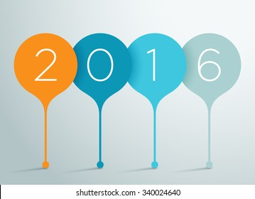 2016 3d Vector Infographic 1