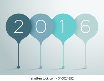 2016 3d Vector Infographic 2