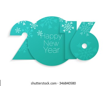2016 Happy New Year and Merry Christmas snowfall Background for your seasonal wallpapers, greetings card, dinner invitations, part flyers, covers and so on.
