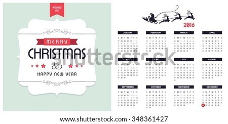 photo relating to Printable Christmas Calendar named 2016 Printable Xmas Calendar Xmas Historical past Inventory