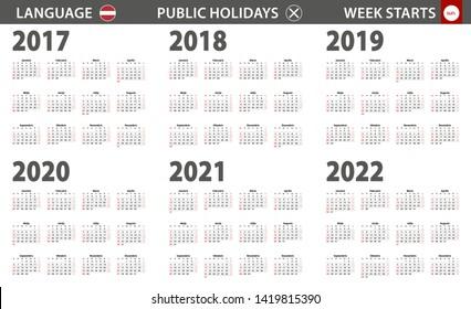 Latvian Calendar Images Stock Photos Vectors Shutterstock