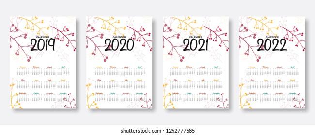 Cute 2022 Calendar.Cute Monthly Calendar Images Stock Photos Vectors Shutterstock