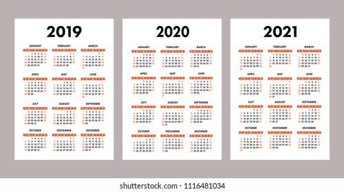 Wallet Calendar 2020 Pocket Calendar Images, Stock Photos & Vectors   Shutterstock