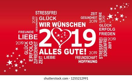 Happy new year 2019 wunsche englisch