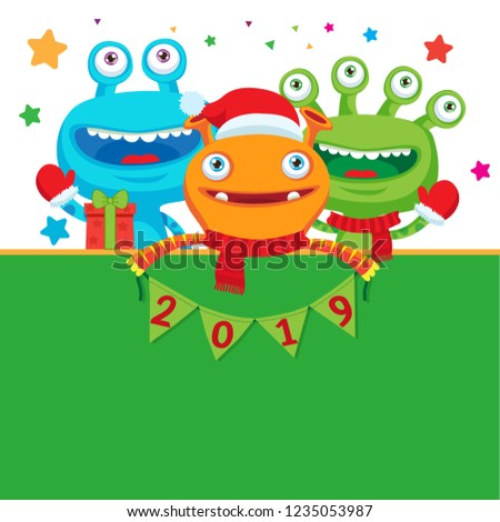 2019 happy new year banner cute stock vector royalty free download happy new year banner 2016 clipart
