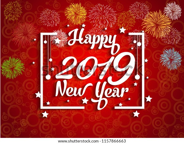 Happy New Year Greeting Card 34