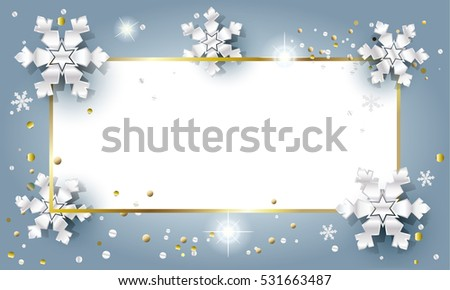 2019 Merry Christmas Happy New Year Stock Vector Royalty Free