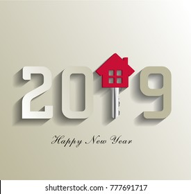 2019 for real estate, 2019 new happy year
