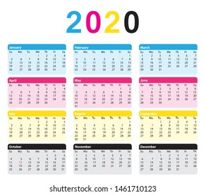 Citytech Calendar Spring 2020.Imagenes Fotos De Stock Y Vectores Sobre Organizador
