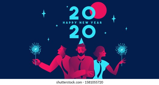 2020 corporate party business template