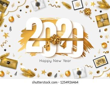 Happy New Year 2020 Images Stock Photos Vectors Shutterstock