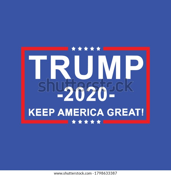2020: United States of America Presidential Election banner design Vector template. Keep America Great. Concept poster design template. Political election campaign.