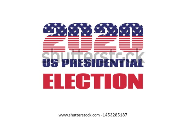 2020 Us Presidential Election Vector Banner Stock Vector Royalty Free 1453285187