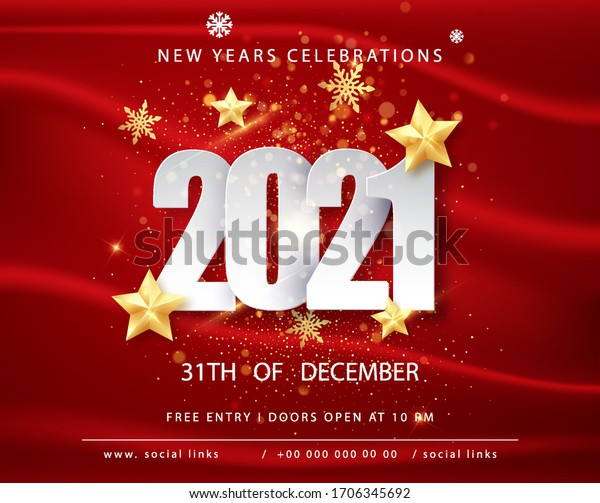 2021 happy new year greeting card stock vector royalty free 1706345692 https www shutterstock com image vector 2021 happy new year greeting card 1706345692
