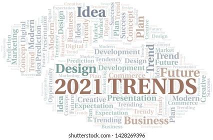 Imágenes, fotos de stock y vectores sobre Trends 2021