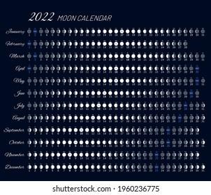 Moon Planting Calendar 2022.Moon Calendar High Res Stock Images Shutterstock