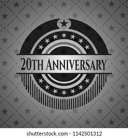 20th Anniversary dark badge