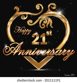 21st Wedding Anniversary.21 Anniversary Images Stock Photos Vectors Shutterstock