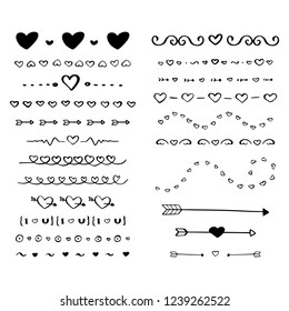 22 of heart dividers elements