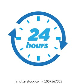 24 hours travel logo