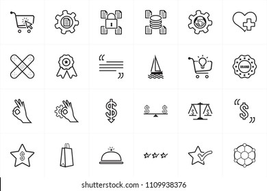 24 Icons for multipurpose use in website design