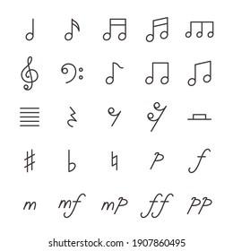 25 Icon Set No.19 (Music)