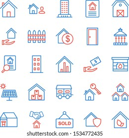 25 real estate Icons For Personal And Commercial Use...